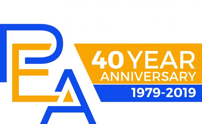 PEA-40 Year Logo (Cropped)
